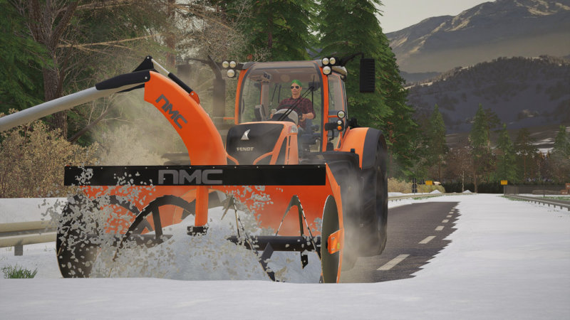 NMC 320H Pro Snow Blower FS19