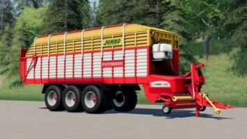 Pöttinger Jumbo Loading Wagon (43,000 Liters) fs19