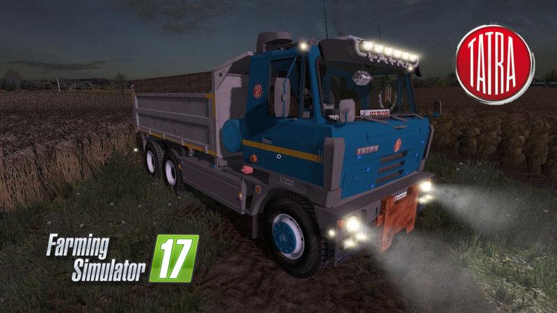 Tatra T815 S3 Edited FS17