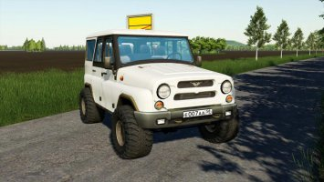 UAZ HUNTER V1.1 fs19
