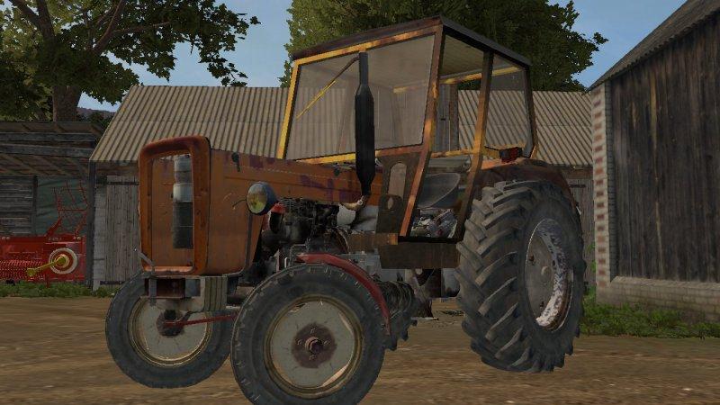 Ursus c355 Stary złom FS17