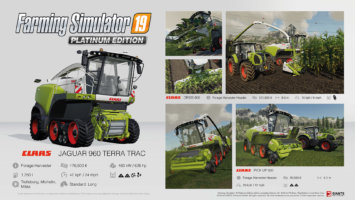 Farming Simulator 19 Platinum fact sheet #8 news
