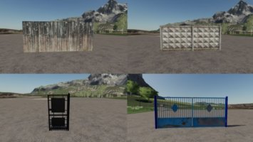 Fences and gates fs19