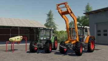 Fendt 380 GTA turbo fs19