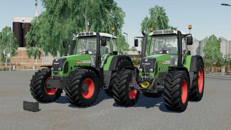 Fendt 800 Vario TMS FS19