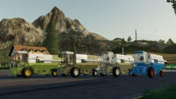 Fortschritt E516 Harvester Pack fs19