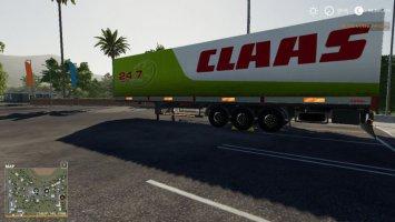 FS19 CLAAS SERVICE KOGEL AUTOLOADER TRAILER fs19