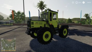 MB Trac 1000 Intercooler v1.1