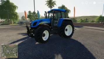 New Holland 7550 bygoli fs19