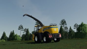 New Holland FR 780 (manual pipe) fs19