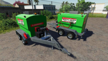 Refillable Fuel Trailer fs19