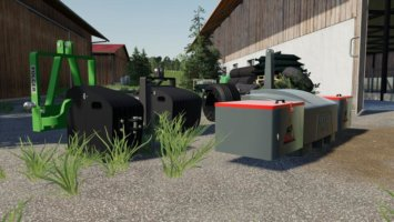 Selfmade weight pack fs19