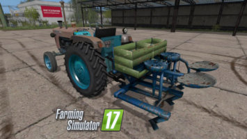 Semi-automatic potato planter fs17