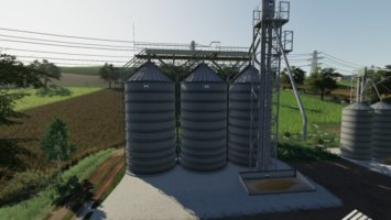Silos Bin Placeable fs19