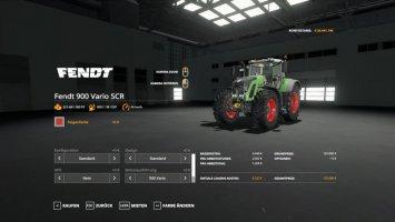 Fendt 900 SCR Verbesserte Version fs19