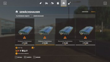 HoT Greenhouses (GC) v1.0.2 fs19