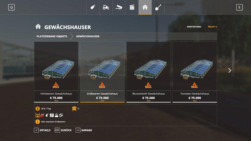 HoT Greenhouses (GC) v1.0.2 FS19