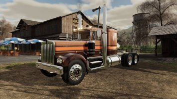 Kenworth W900A Flat Top 1974