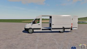 Mercedes Sprinter With Autoload Pallets