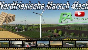 Nordfriesische Marsch 4fach v1.5 ohne Gräben