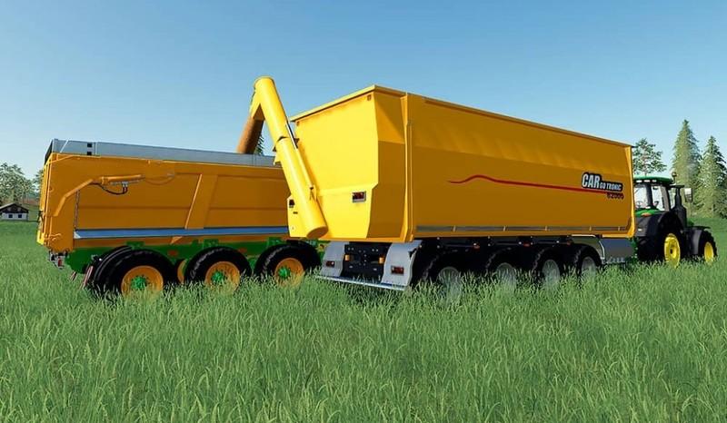 Peecon Cargo 62000 FS19