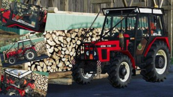 Zetor 7745 Forest Edition fs19