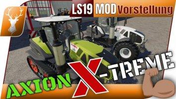 CLAAS AXION Terra Trac X-Treme Edition by MH Tuning 1.0.0.1 fs19