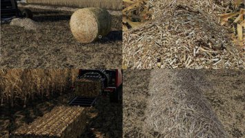 Corn & Soybean Straw Bales fs19