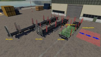 Fliegl Timber Runner Wide With Autoload Wood v1.1 fs19