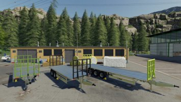 Fliegl TPW Bale Trailer Set v1.2 fs19