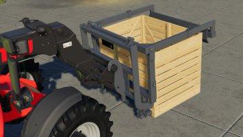 Naus Potato Storage Box And Turnable Pallet Fork v1.1 fs19