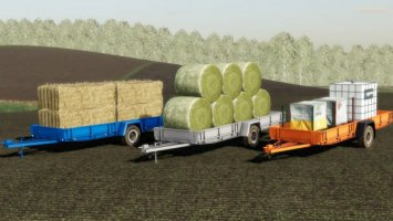 NP-25 Autoload bale trailer