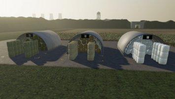 Round Bale Storages