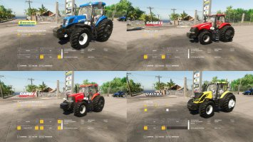 Tractors Pack by Taylano fs19