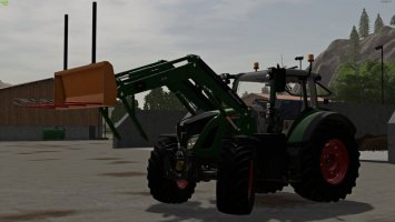 Alö-Pack manual support arms fs19