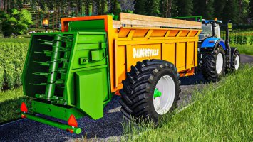Dangreville Manure Spreader fs19