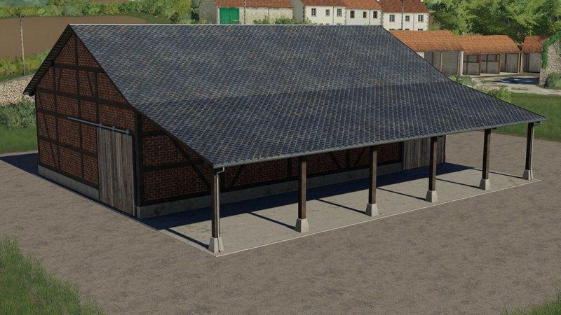 Half-Timbered Barn FS19