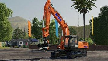 Hitachi ZX290LC fs19