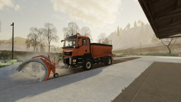 Man TGS Winter Service FS19
