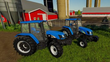 New Holland TL-A and T5000 Pack fs19