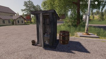 Outhouse with Sleep trigger