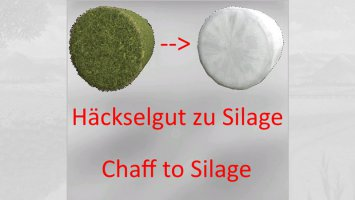 Press Chaff To Silagebales fs19