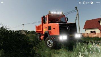 RENAULT C280 6x4 Benne COLAS v1.5