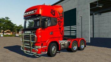 Scania R730 Semi 3 Axle V1.0.0.1