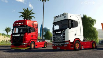 Scania S580 Custom (Original version)