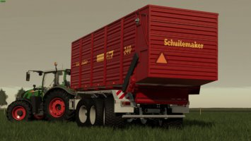 Schuitemaker Siwa 240 Hooklift Silage Container