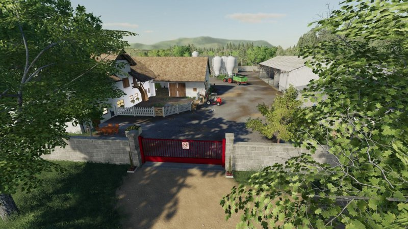 The Old Farm Countryside v3.2 FS19