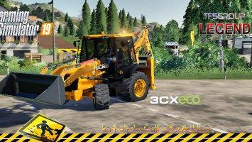 BACKHOE LOADER JCB 3CX ECO v1.5