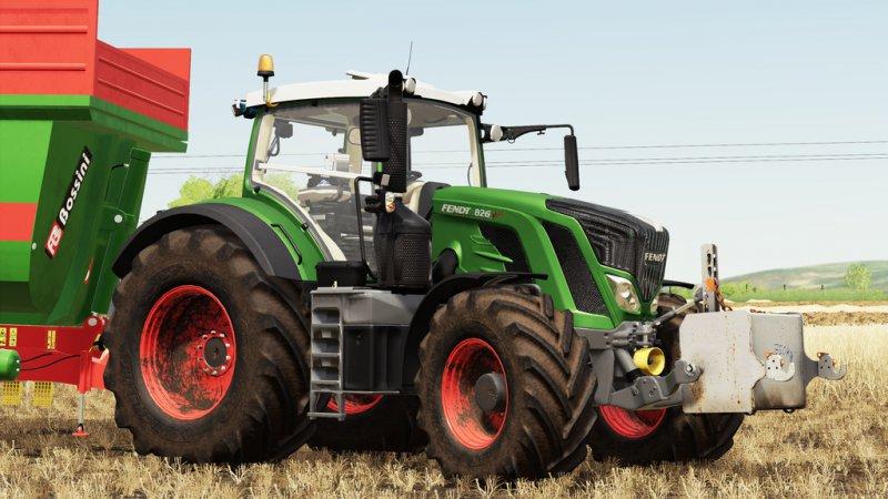 Fendt 800 S4 FS19