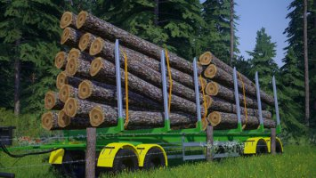 Fliegl Log Trailer v3 fs19